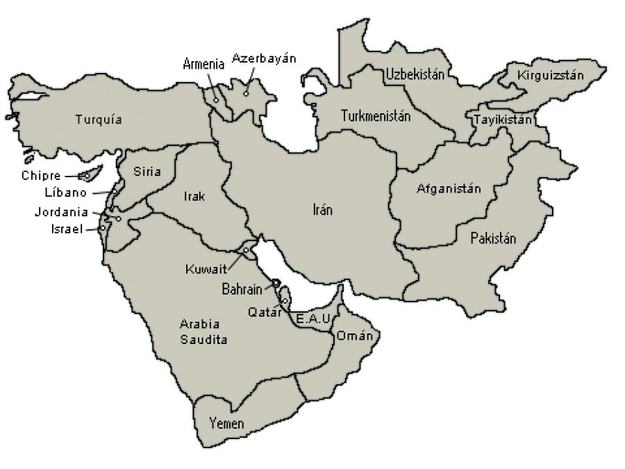 Acontecimientos finales en el Medio Oriente