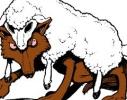 El pastor, las ovejas, los lobos y el perro guardián
